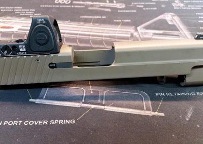 Sig P226 Cerakote slide.