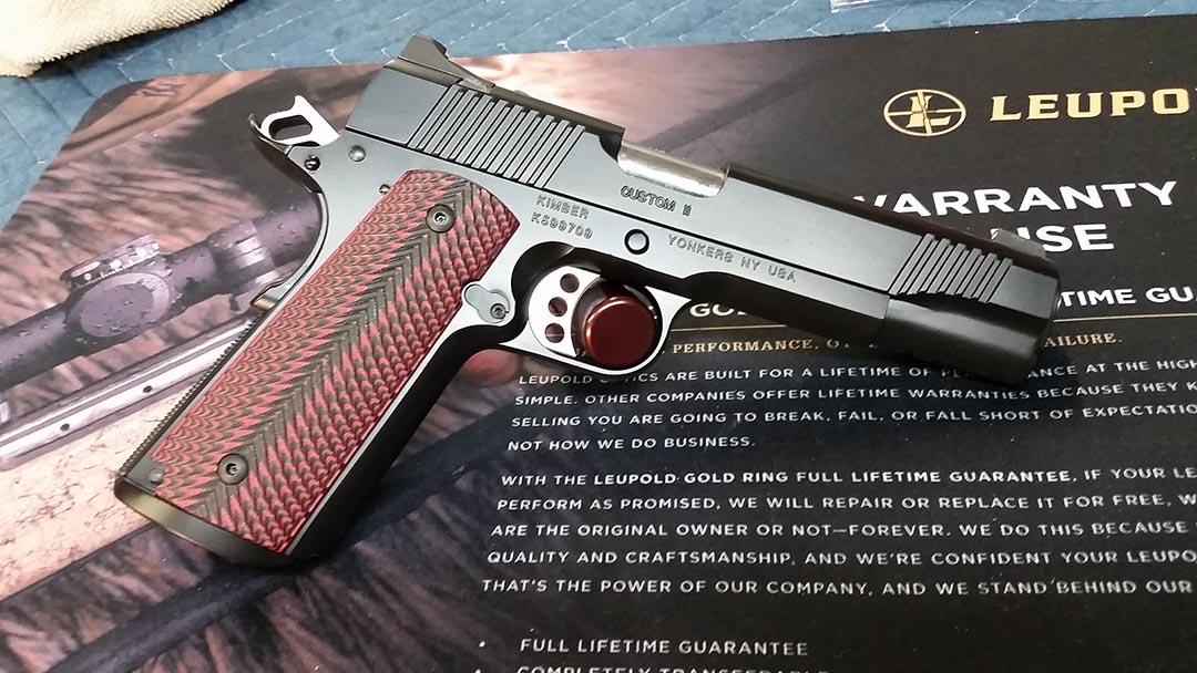 Kimber Custom II Complete Cerakote Graphite Black - Firearms